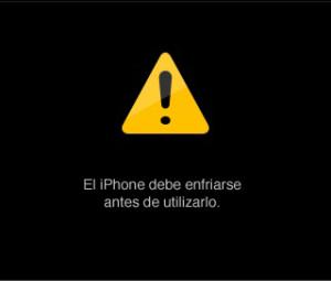Sobrecalentamiento iPhone